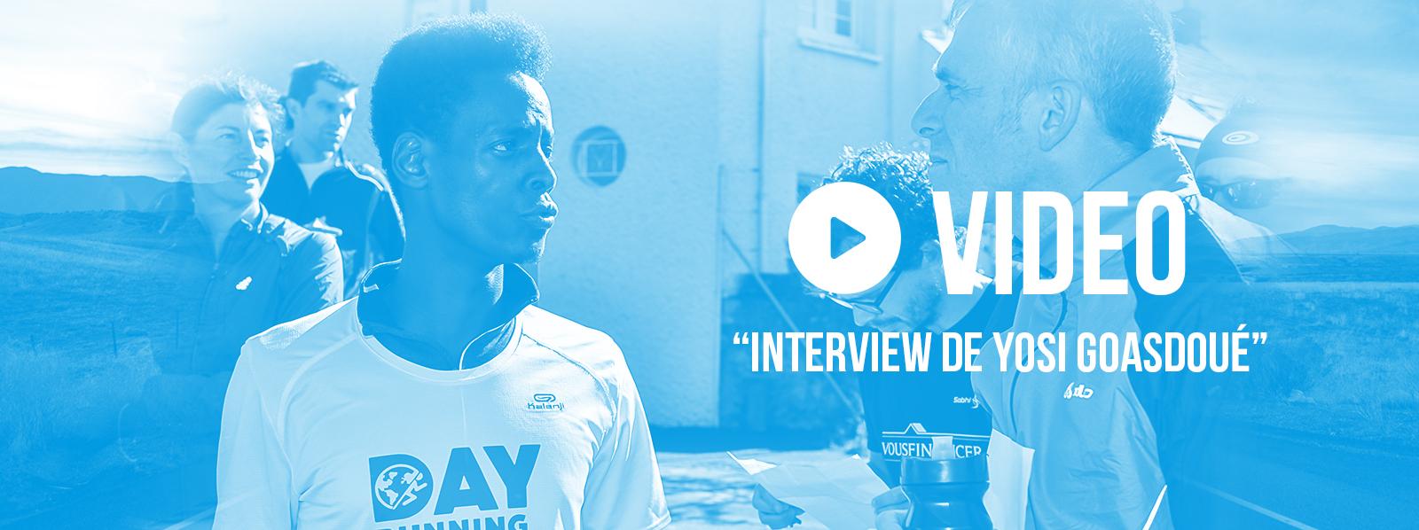 Fond interview vidéo